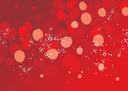Christmas Magic Background (editable vector + jpeg)