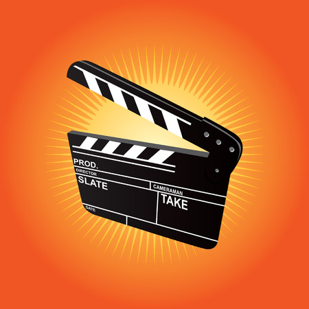 Film Clapboard Illustration