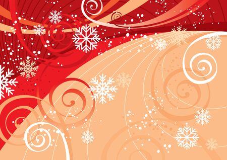 New Years Fun Background (editable vector or jpeg image)
