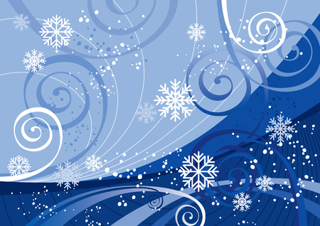 Winter Holidays (editable vector or jpeg image) Vector