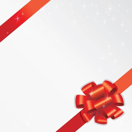 Holiday Ribbon (editable vector or XXL jpeg image)