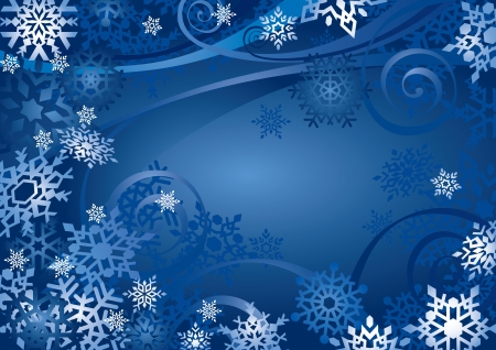 Snowflakes Design (vector or XXL jpeg image) Vector