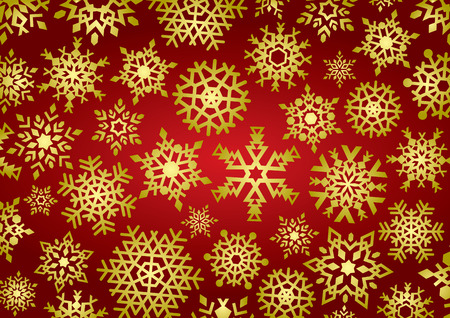 Snowflakes Background (vector or XXL jpeg image) Stock Vector - 1922519