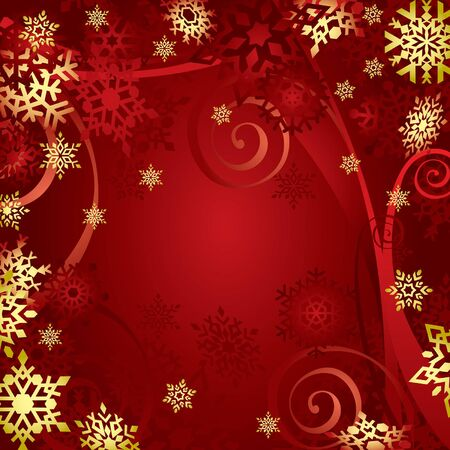 Christmas Snowflakes (vector or XXL jpeg image) Vector