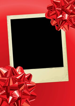 christmas photo frame: Holiday Photo