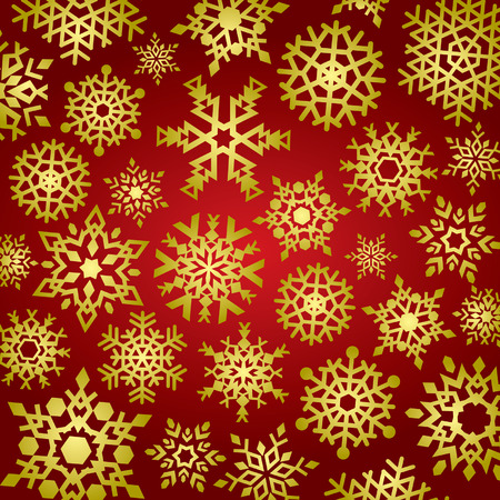 Snowflakes Background Stock Vector - 1989495