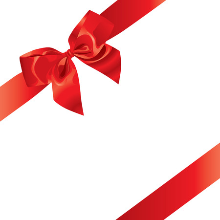 Festive Bow (vector or XXL jpeg image)