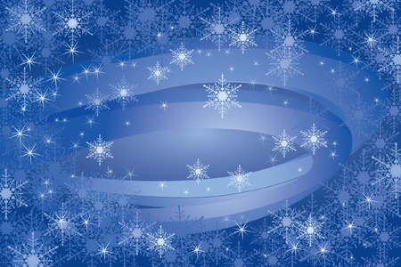 Snowflakes Background (vector or XXL jpeg image) Stock Vector - 2025436