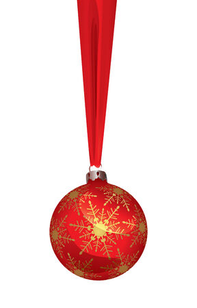 Christmas Ball (vector or XXL jpeg image)