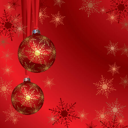 Christmas Background (vector or XXL jpeg image) Vector