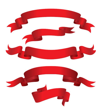Red Banners (vector or XXL jpeg image)