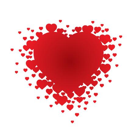 xxl: Valentines Heart (vector or XXL jpeg image) Illustration