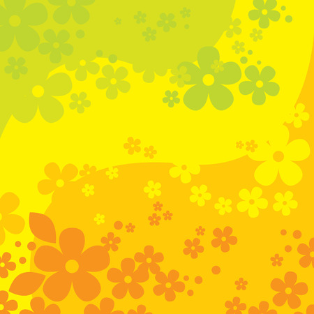 many coloured: Flowers Background (vector or XXL jpeg image)