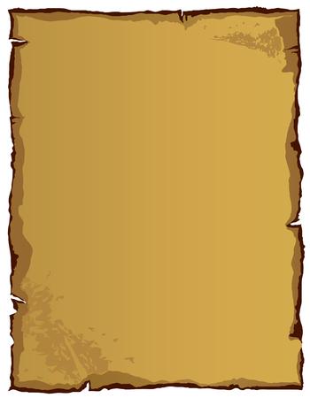 curled edges: Libro antico (vettore o XXL immagine jpeg)