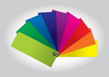 color swatch book: Color Swatch (illustration)