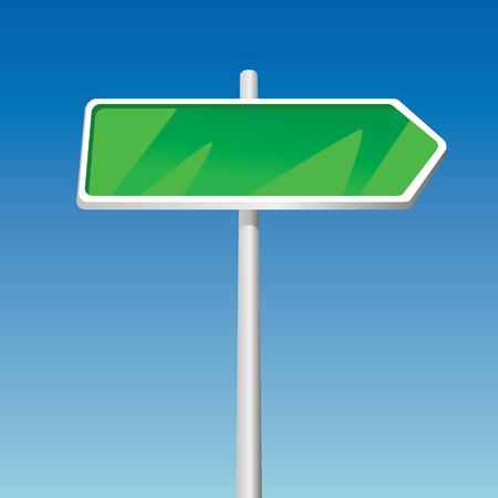 Signpost (illustration) Vector