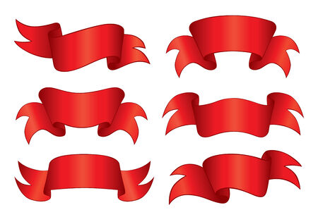 Red Banners Stock Vector - 3382524