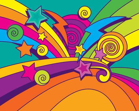 Big Bang Background! Vector