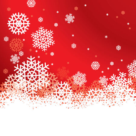 Snowflakes Background With Space For Text