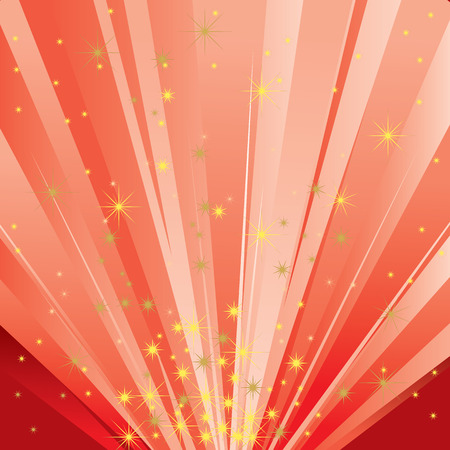 Magic Light (Abstract Magical Background) Vector