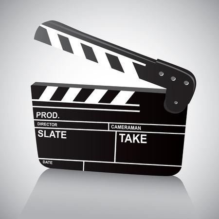clapboard: Film Clapboard Illustration