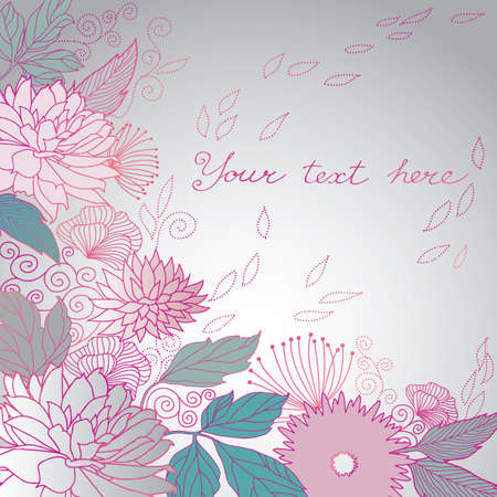 Floral Background Stock Vector - 8121367