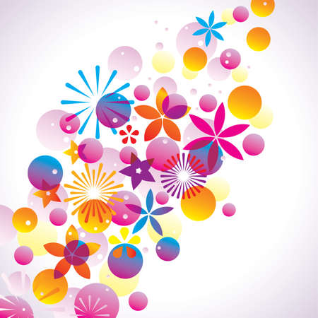 Abstract Background Stock Vector - 8121358