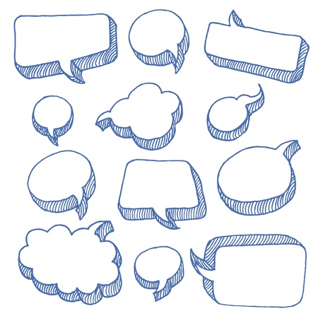 message bubble: Speech And Thought Bubbles