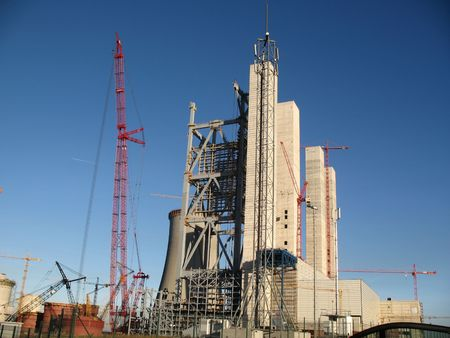 statics: Construction of a new power station