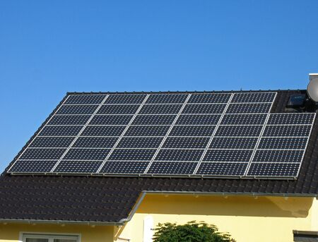 subsidy: Roof with solar cells