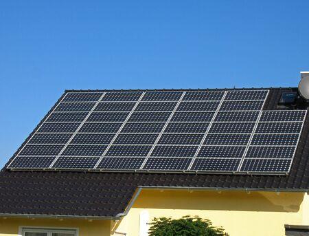 radiacion solar: Techo con c�lulas solares