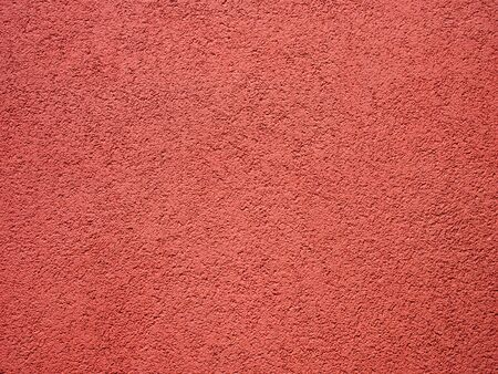 llanura: Red muro de una casa de fondo