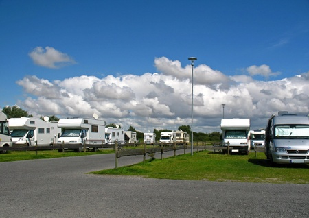 camping pitch: Holidays with a motor home