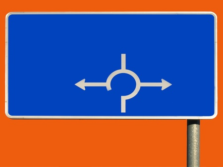 exempted: Exempted traffic sign Stock Photo