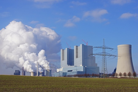 rwe:  Old an new  power station