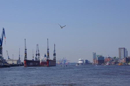 Harbour of Hamburg