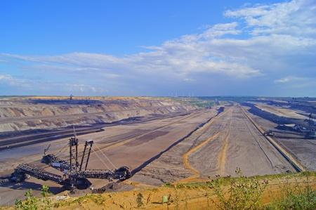 north  rhine westphalia: Lignite mining in Germany, North Rhine Westphalia