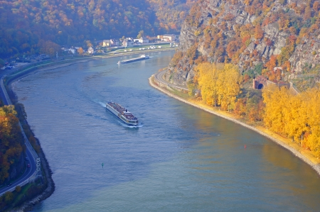 viewpoints:  The Rhine at the Loreley in Germany