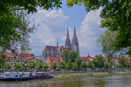 regensburg: Cathedral of Regensburg Stock Photo