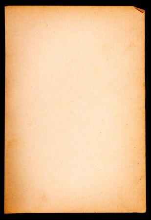 old retro book on white background  photo