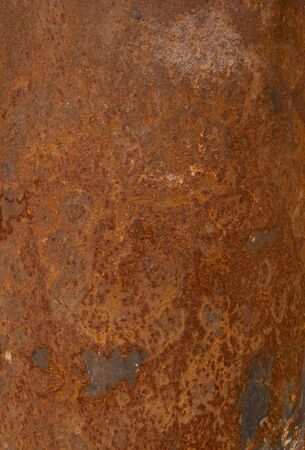 close up of  ruined rusty metal texture background photo