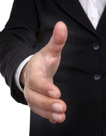 close up of businesswoman hand Stock Photo - 4728095