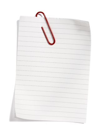 close up of postit reminders on white background Stock Photo - 4728145