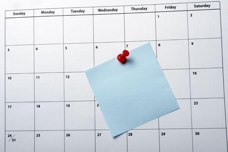 close up of a calendar Stock Photo - 4848498