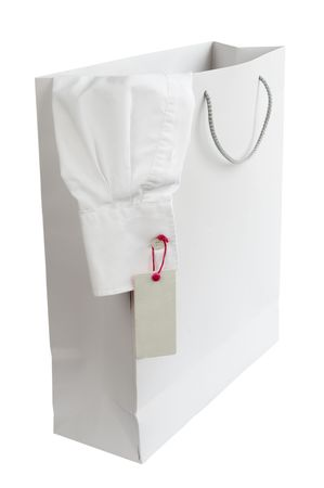 close up of shopping bag and shirt with price label Stock Photo - 4872187