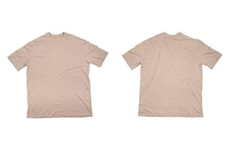 collection of  t shirts on white background. each one is in full cameras resolution. Stock Photo - 4983456