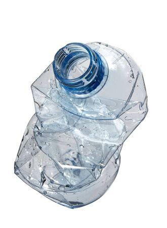 close up of plastic bottle photo