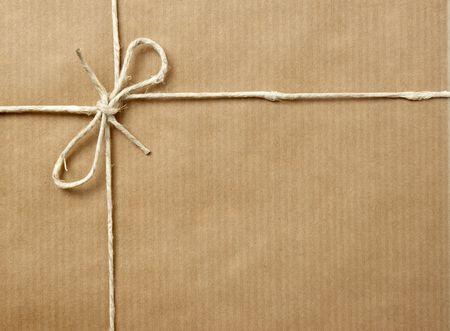close up di scatola in cartone pacchetto post