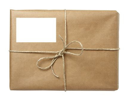 close up of carton  box post package Stock Photo - 5223640