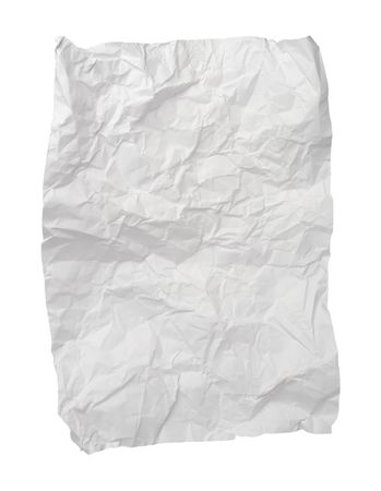useless: close up of ball of paper Stock Photo